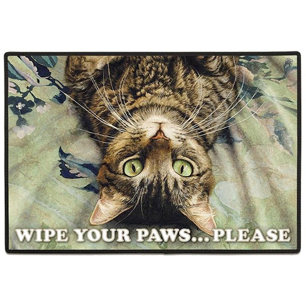 Cat Perspective Welcome Floor Mat Doormat - FE-D315