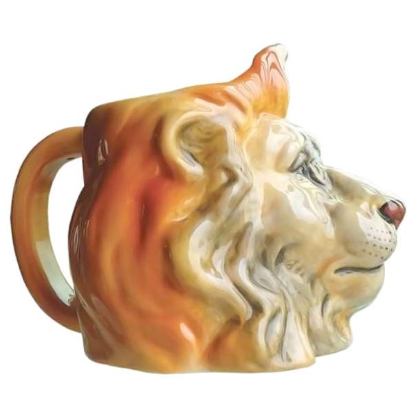 Lion Wild King Sculpted 16oz Mug - 13267