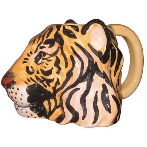 Wild Tiger Sculpted 14oz Mug - 13269