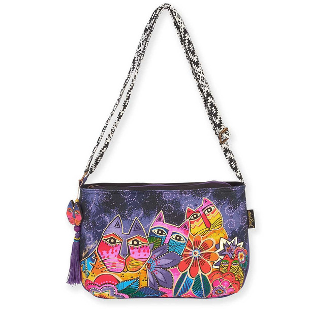 Laurel Burch Laurels Garden Crossbody Shoulder Tote
