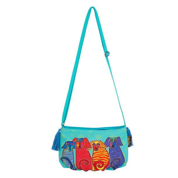 Laurel Burch Pups Crossbody Bag LB5552E