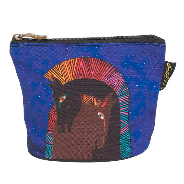 Laurel Burch Mythical Mares Cosmetic Clutch Pouch Embracing Horses LB6290E