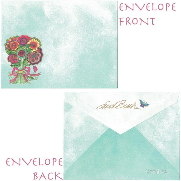 Laurel Burch Bouquet Envelope