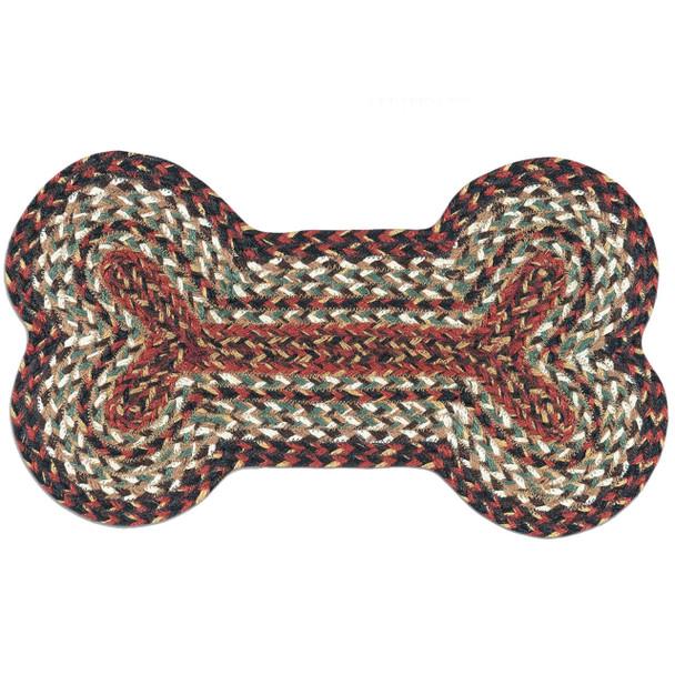 Terracotta Jute Dog Bone 13x22 Rug DB-9-90