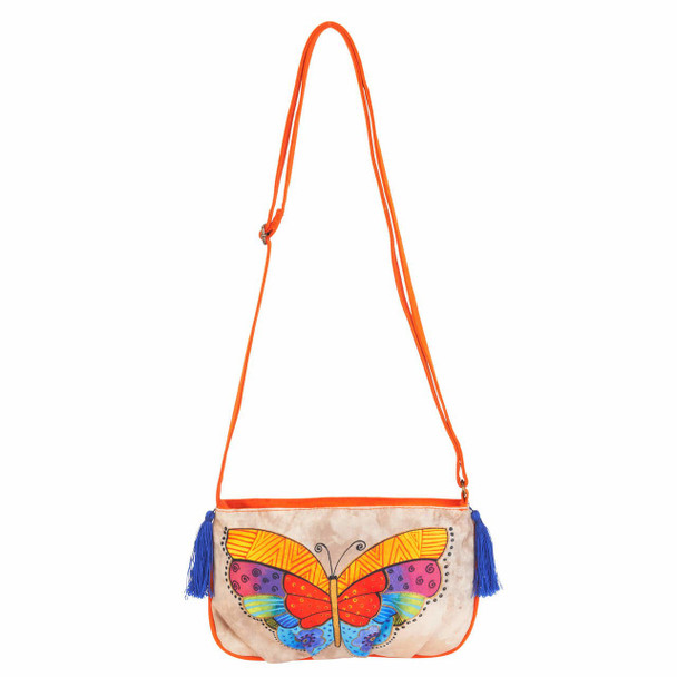 Laurel Burch Flutterbyes Crossbody Bag LB5552i