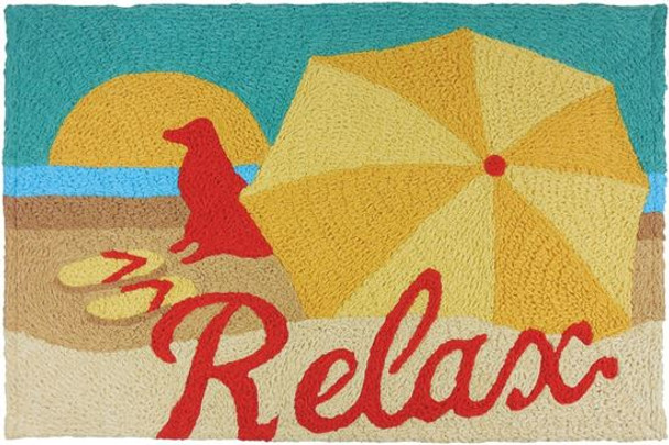 Relax Beach Dog Rug Indoor Outdoor Washable JB-JG002