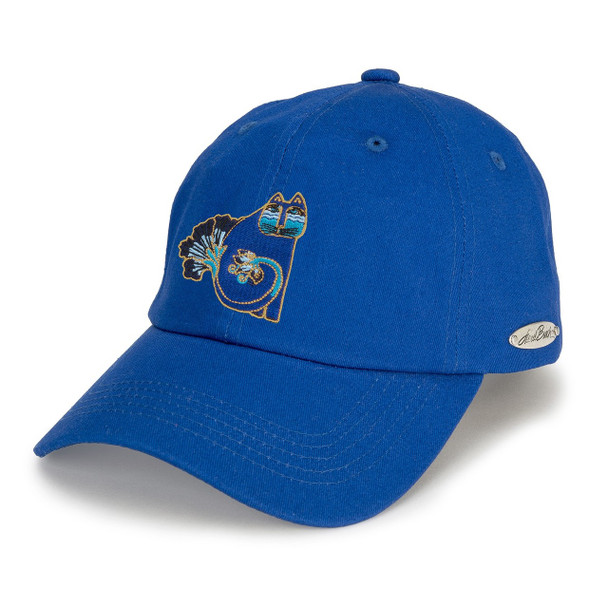 Indigo Cats Blue Ball Cap
