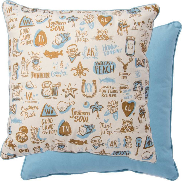Southern Style Themed - Accent Pillow - 31549