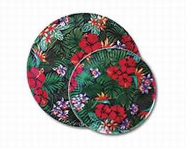 "Lush Flower Paper Plates 7"" - 47107000"