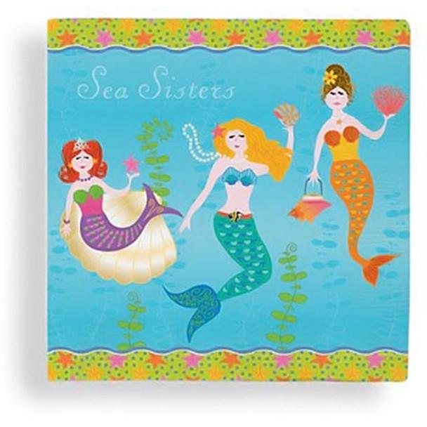 Mermaid Sea Sisters Paper Cocktail Napkins 15-153