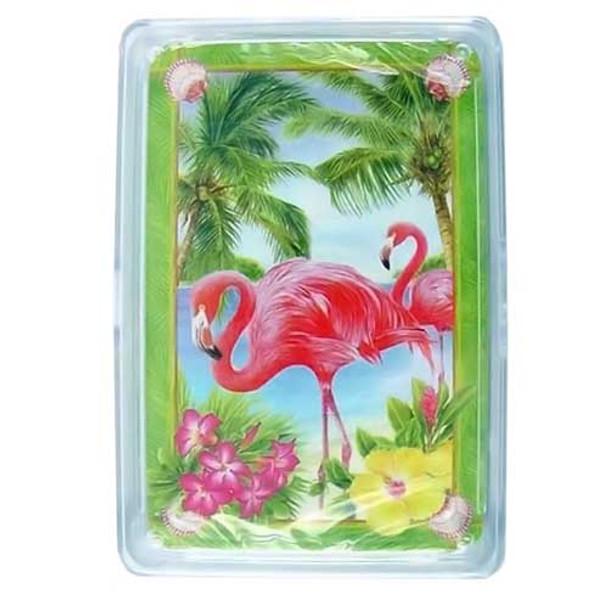 "Pink Flamingo Playing Cards ""Flamingo Garden"" - 36-202"