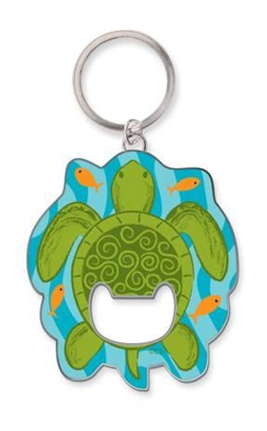 Sea Turtle Key Ring Key Chain Bottle Opener - 805-82