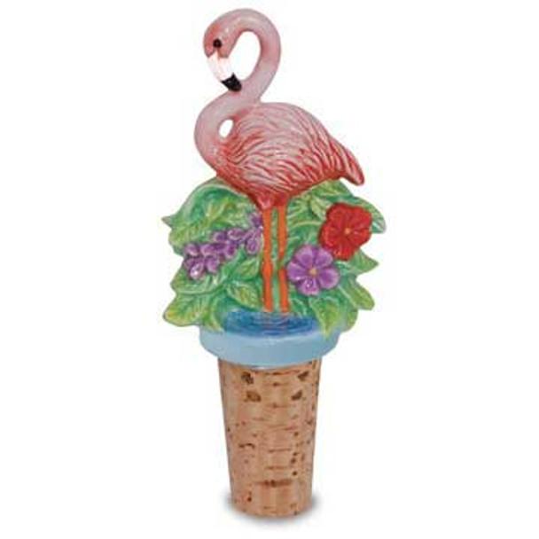 Novelty Bottle Topper Flamingo Paradise 842-81
