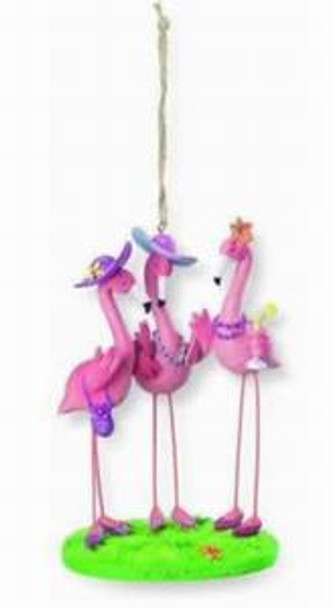 Pink Flamingo Ladies Ornament  - 862-41