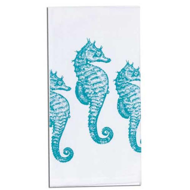 Seahorses Krinkle Hand Towel A8502