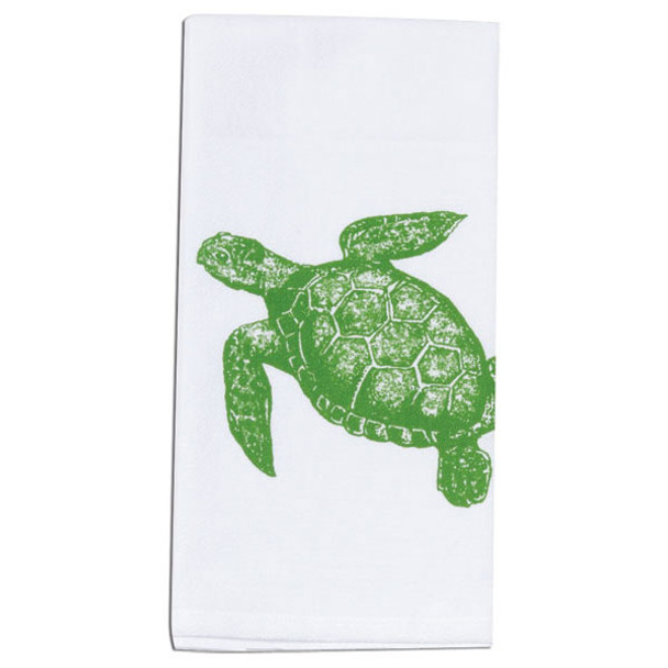 Sea Turtle Krinkle Flour Sack Towel A8505