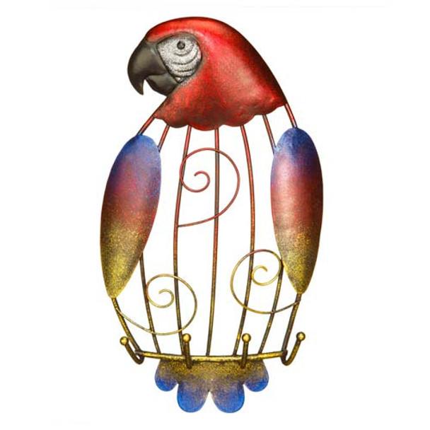 Parrot Metal Keyring Photo Holder DFA2185