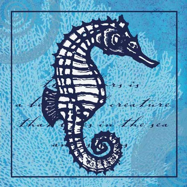 Seahorse Paper Cocktail Napkins Pk of 20 - PPNP05279