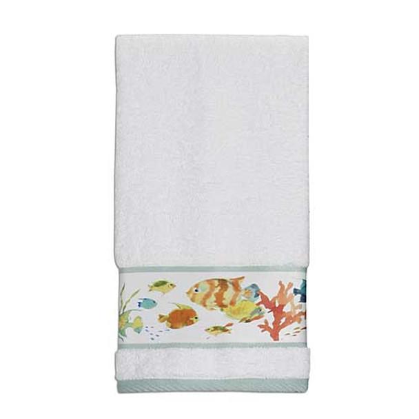 Rainbow Fish 100% Cotton Hand Towel TP1073HMULT