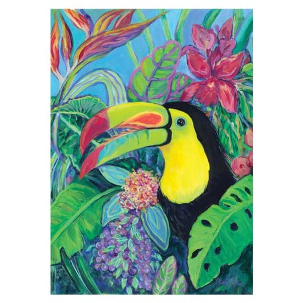 Tropical Toucan GARDEN Flag - 119442