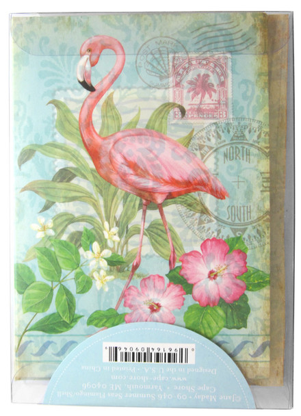 Includes Flamingo Note Cards