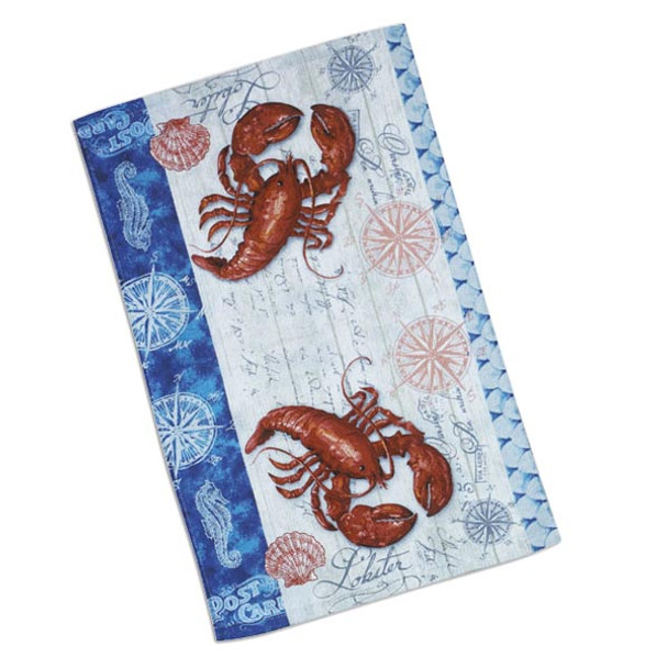 Lobster Fest Terry Hand Towel R2210