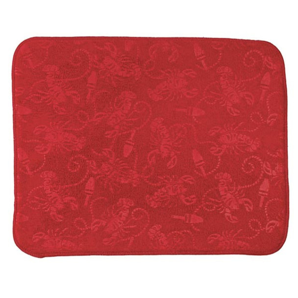 Red Lobster Embossed Drying Mat - A8938