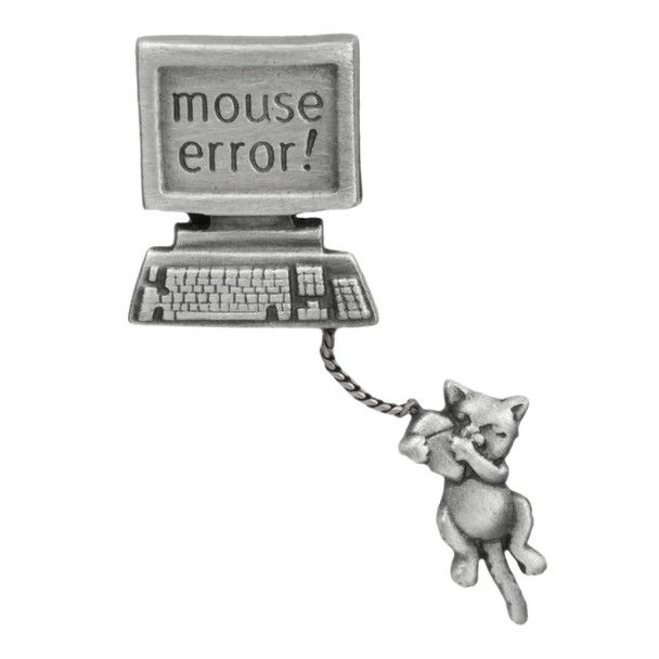 "Cat Computer Pin ""Mouse Error"" 1137/2CP"