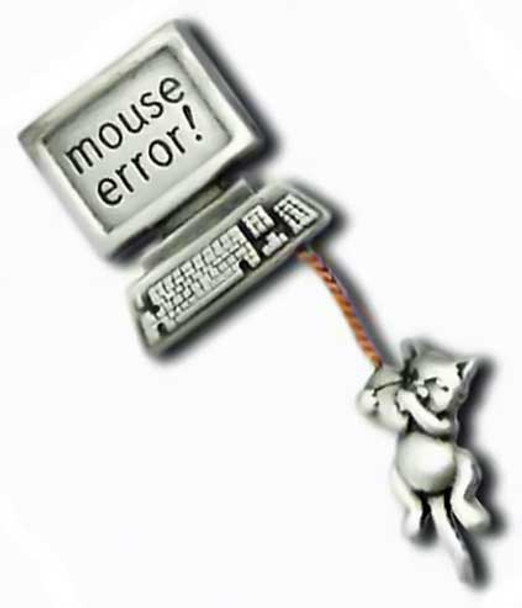 """Cat Computer Pin """"Mouse Error"""" 1137/2CP"""