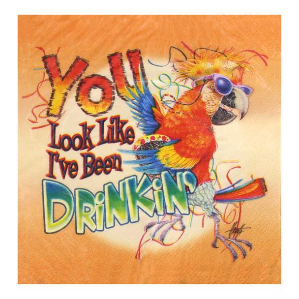 Parrot You Look Like I've Been Drinkin Beverage Napkins NAP53090