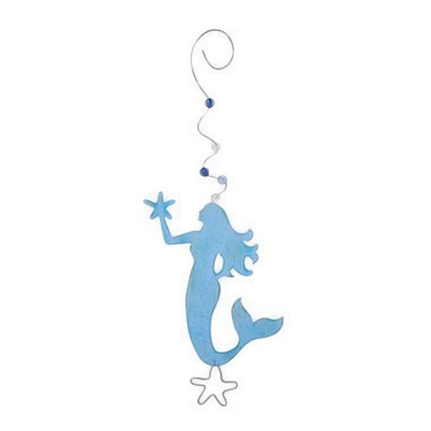 Mermaid Metal Ornament - 861-65