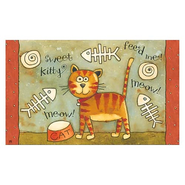 Sweet Kitty Floor Mat MatMate 13807D