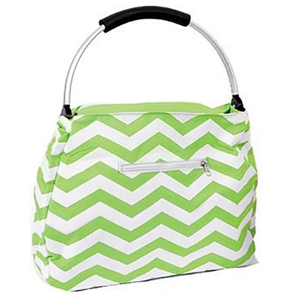 Green Chevron Colorful Tote - 60337B