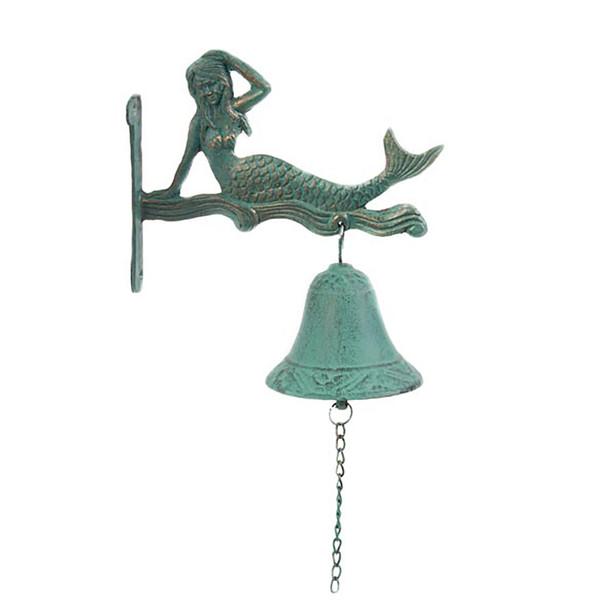 Mermaid Wall Bell