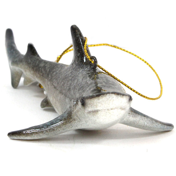 Gray Shark Ornament