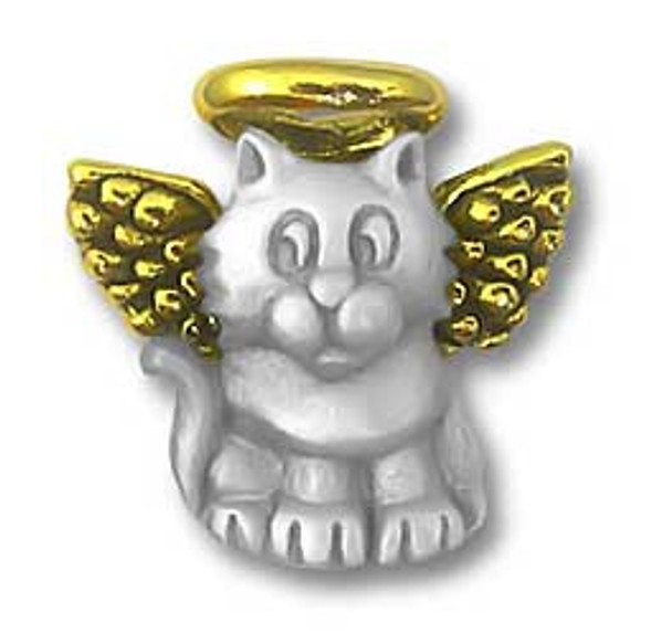 Cat Angel Small Lapel Pin 1944CP