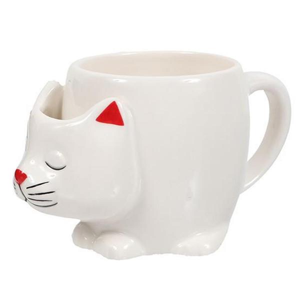 White Cat TEA Mug - 12oz - 40000