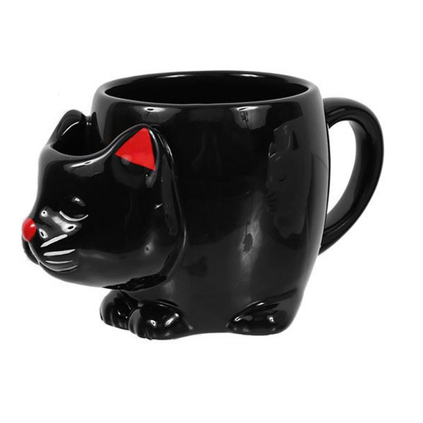 Black Cat TEA Mug - 12oz - 40000B