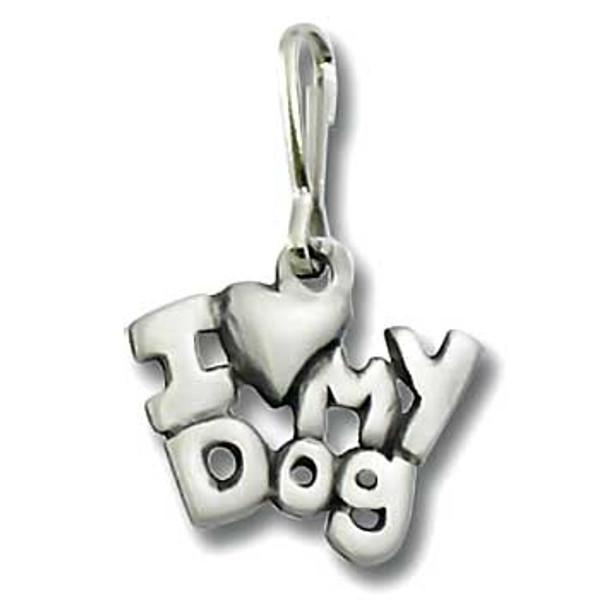 Dog Zipper Pull I Love My Dog 2034ZP