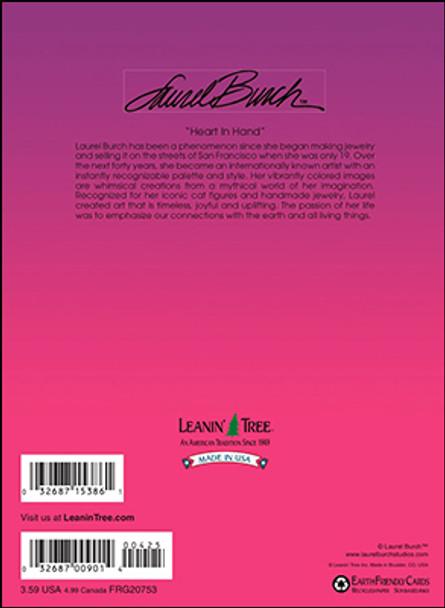 Laurel Burch Friendship Card - Heres a little Love - 20753