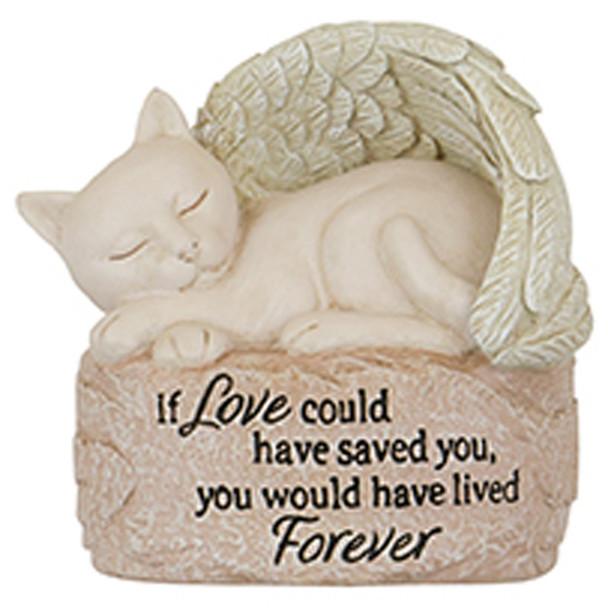 Small Cat Angel Figurine 15518