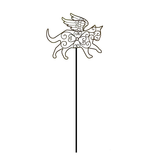 Cat Angel - Pet Memorial Garden Stake - ZSK47A