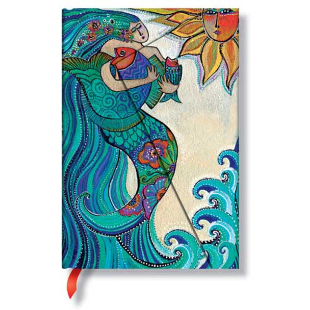 Laurel Burch Journal Ocean Song Mini 2233-6
