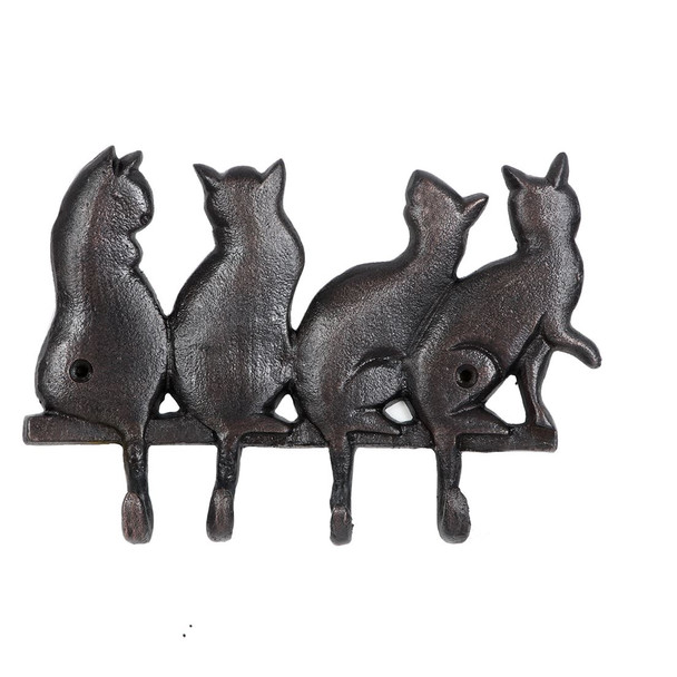 "Cat Tail Metal Wall 8"" Hook 40031"