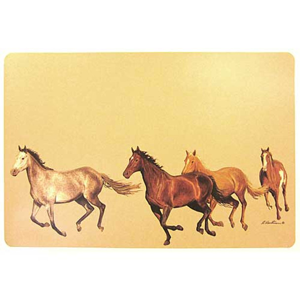 Running Pony Pasture PVC Placemat 2PM1057