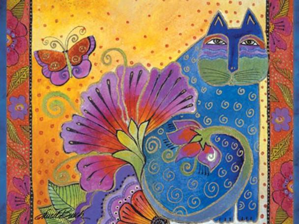 "Laurel Burch Card Birthday ""Blossoming Spirits"" - BDG13231"