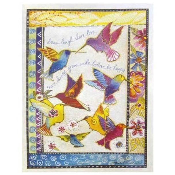 Laurel Burch Collector Cards Happy Birthday BDL49290