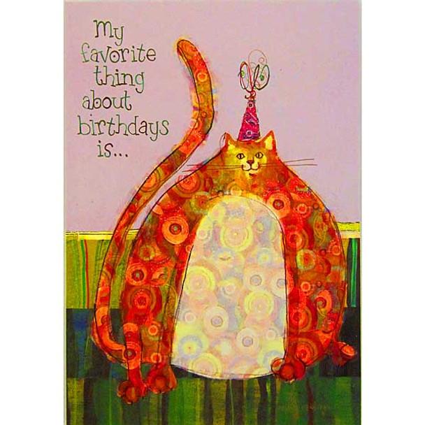 Robin Rawlings Favorite Things Card BDT21887