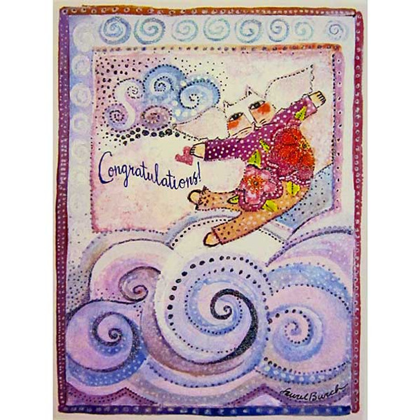 Laurel Burch Congratulations Card CGG10876
