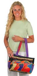 Laurel Burch Sky Spirits Medium Bag
